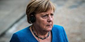 Angela Merkel am 16. September 2021 in Paris | Bild: picture alliance / Hans Lucas | Xose Bouzas