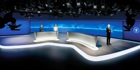Tagesschau-Studio in Hamburg | Bild: ARD / CC BY-SA 3.0