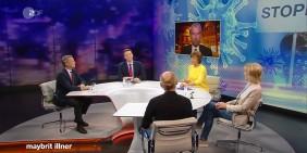 Bild: Screenshot ZDF Maybrit Illner, Sendung vom 14. Mai 2020