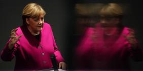 Angela Merkel on 25 March 2021 in the German Bundestag   Bild: picture alliance/dpa   Michael Kappeler